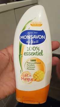 Monsavon - Gel douche hydratant au lait et mangue