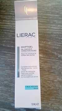 LIÉRAC - Dioptigel - Gel fraîcheur correction poches