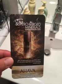 Ahava - Supercharged minerals