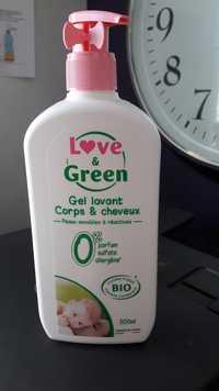 LOVE & GREEN - Gel lavant Corps & cheveux