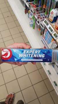 AUCHAN - Dentifrice expert blancheur