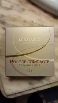 MAVALA - Poudre compacte transparente
