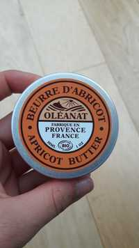 Oléanat - Beurre d'abricot