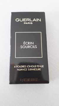 Guerlain - Écrin sourcils - 4 Poudres longue-tenue
