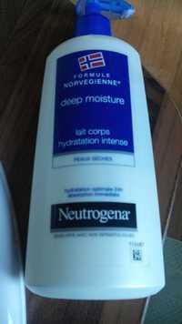 Neutrogena - Lait corps hydratation intense