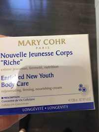 MARY COHR - Nouvelle jeunesse corps riche