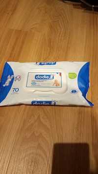 Dodie - Lingettes nettoyantes douceur dermo-apaisantes 3 en 1
