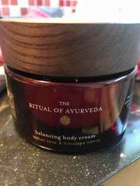 Rituals - The Ritual of Ayurveda - Balancing body cream