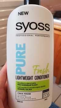 SYOSS - Pure fresh - Lightweight conditioner