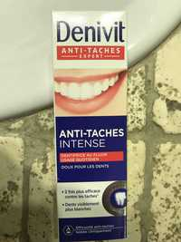 Denivit - Dentifrice anti-taches intense