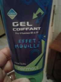 Leader Price - Gel coiffant - Effet mouillé fixation