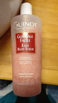 Guinot - Gommage facile - Gel exfoliant corporel lissant