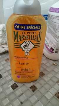 Le petit marseillais - Shampooing au lait de karité et au miel