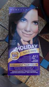 RUBELLA - Holiday - Permanent hair color 4.43 Golden chestnut