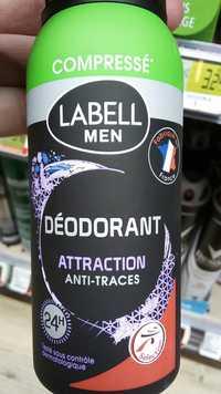 LABELL - Men - Déodorant attraction anti-traces 24h