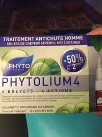 Phyto - Phytolium 4 - Traitement antichute homme