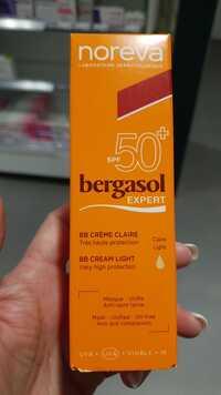 NOREVA - Bergasol expert - BB Crème claire SPF 50+