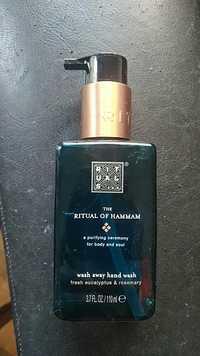 Rituals - The ritual of hammam - Wash away hand wash