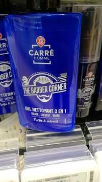 MARQUE REPÈRE - Carré homme the barber corner - Gel nettoyant 3 en 1