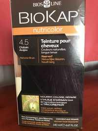 BIOKAP - Nutricolor - Teinture pour cheveux 4.5 châtain acajou