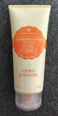 BEAUTY SUCCESS - Fleurs d'oranger - Gommage corps