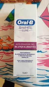 Oral-B - 3D white luxe - Acelerador del blanqueamiento