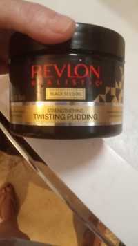 REVLON - Realistic Black seed oil - Strengthening twisting pudding