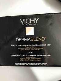 VICHY - Dermablend - Fond de teint compact crème SPF 30