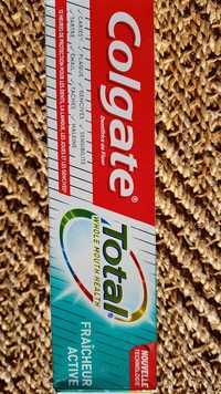 COLGATE - Total Fraîcheur active - Dentifrice au Fluor