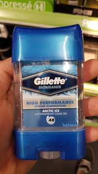 GILLETTE - Endurance - Antiperspirant clear gel 48h