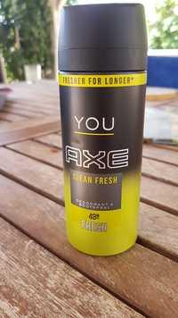 AXE - You clean fresh - Déodorant & body spray 48h