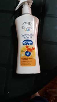 Crowe - Kids - Spray solar infantil proteccion muy alta FPS 50+