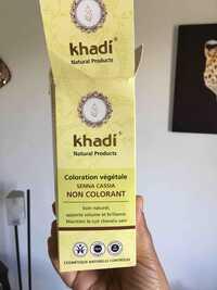 KHADI - Coloration végétale - Senna Cassia
