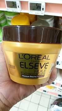 L'Oréal - Elseve - huile extraordinaire