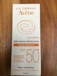 Avène - Crème Minérale SPF 50+