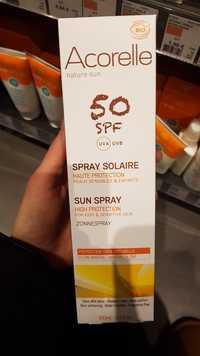 ACORELLE - Spray solaire haute protection SPF 50