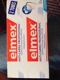 ELMEX - Dentifrice anti-caries professional
