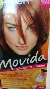 GARNIER - Movida - Soin-crème colorant - 22 acajou cuivre