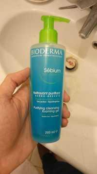 BIODERMA - Sébium gel moussant - Nettoyant purifiant