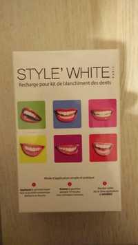 Style'White - Recharge pour kit de blanchiment des dents