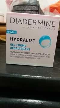 DIADERMINE - Hydralist - Gel crème désaltérant
