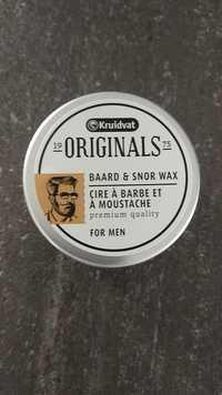 Kruidvat - Originals for men - Cire à barbe et à moustache