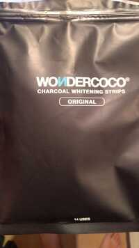 Wondercoco - Charcoal whitening strips