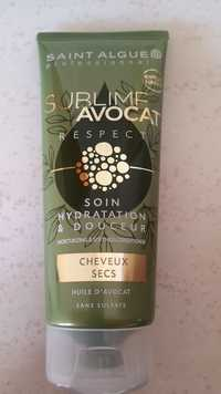 Saint Algue Professionnel - Sublime avocat resêct  - Soin hydratation & douceur