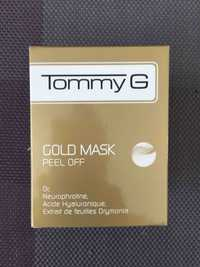 TOMMY G - Gold mask peel off