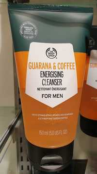 THE BODY SHOP - Guarana & coffee energising cleanser for men