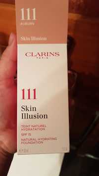 Clarins - Skin illusion - Teint naturel hydradation SPF15