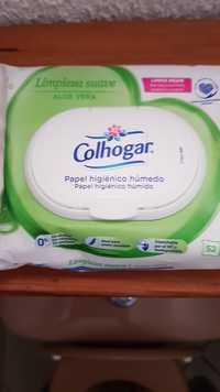 Colhogar - Limpieza suave aloe vera - Papel higiénico humedo