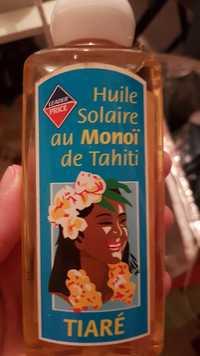 Leader Price - Tiaré - Huile solaire au monoï de Tahiti