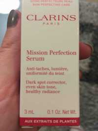 Clarins - Mission perfection sérum